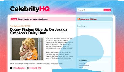 celebrityhq wordpress template
