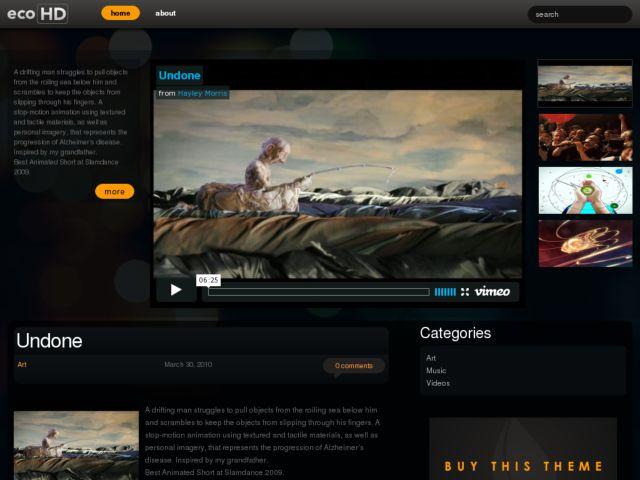 Best Video WordPress Themes for 2012 - Makis.TV