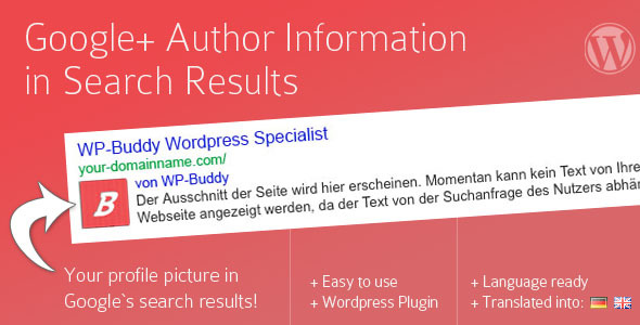 google author link with wp profile plugin