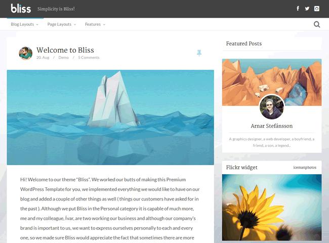 Best WordPress Responsive Blog Themes for 2013 - Makis.TV
